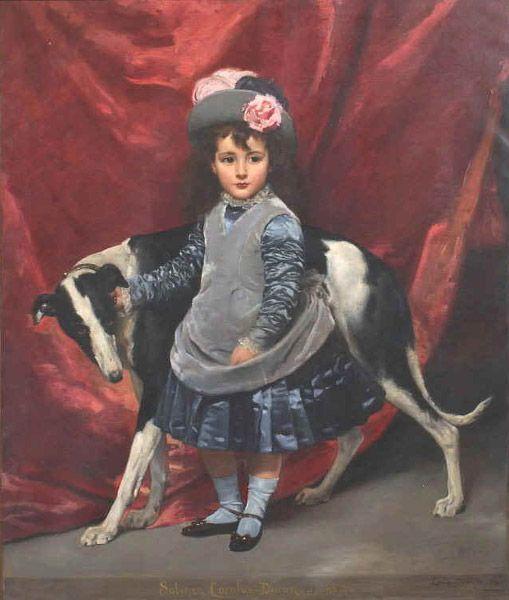 1875 Carolus Duran - Mademoiselle Sabine: