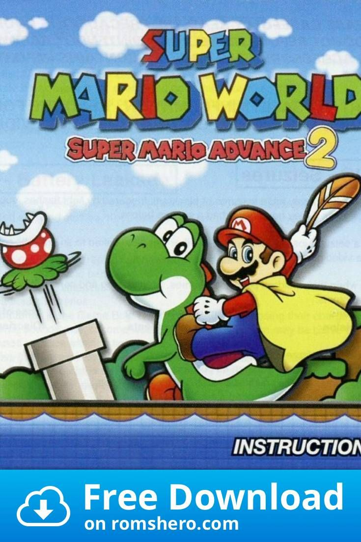 Download Super Mario Advance 2 Super Mario World Gameboy