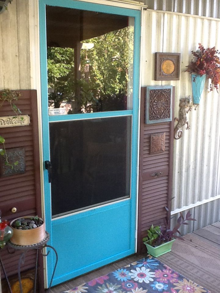 17 Best Ideas About Painted Storm Door On Pinterest