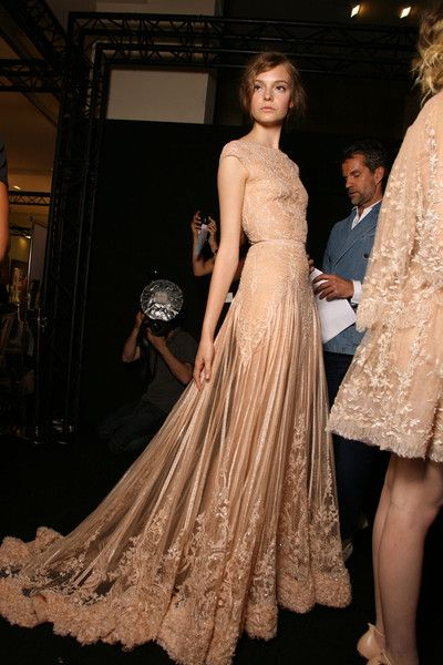 Elie Saab Fall 2011 - Backstage