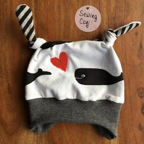 Schnittmuster Icy Minimop von aefflynS (Freebook) - Motivjersey Bio Jersey Wale (Staghorn) - Erstlingsausstattung - Klinikkoffer - Kliniktasche - Neugeborene - Outfit - Babyoutfit - Wal - Nähen -  Baby - Newborn - Sewing - Pattern