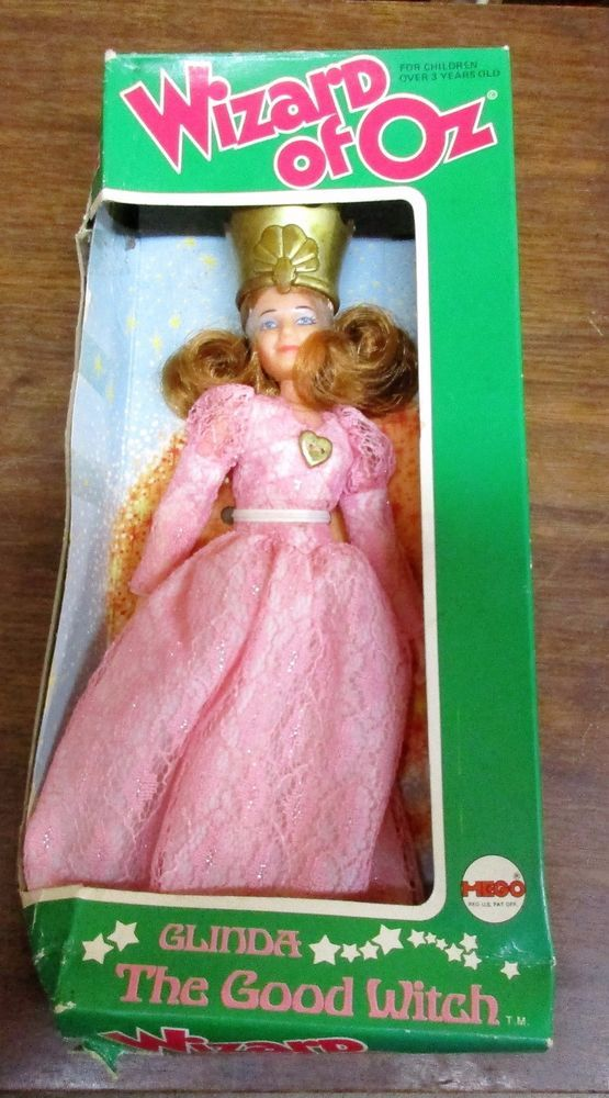 Vintage 1974 Mego Glinda The Good Witch Wizard Of Oz Doll 75 In Box