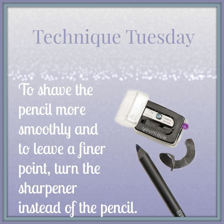 Technique Tuesday ~ Pencil Sharpener https://www.youniqueproducts.com/Thetanginger/business
