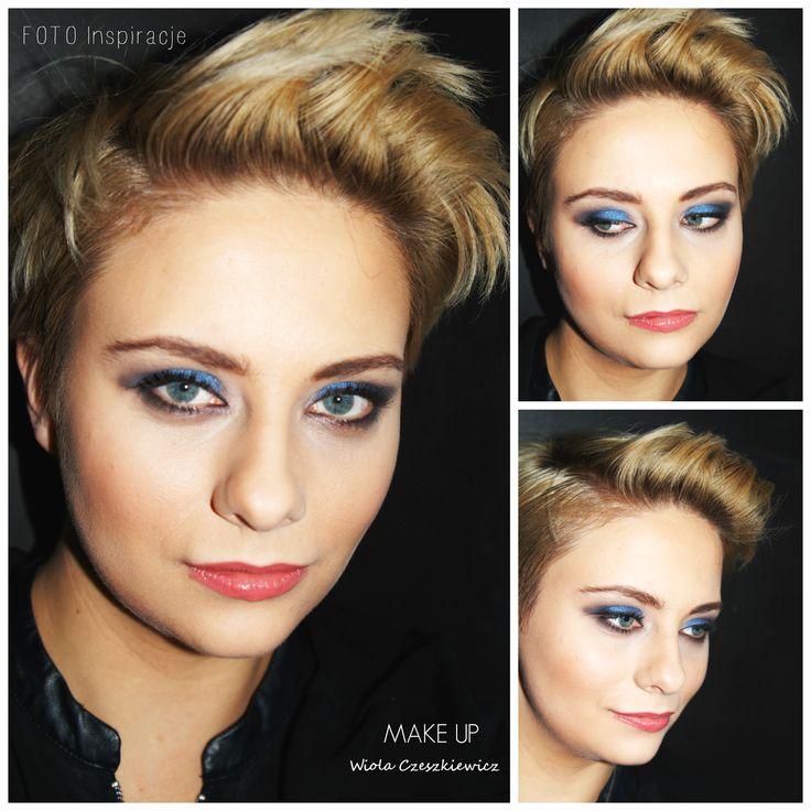 Makijaż w wykonaniu Wiola Czeszkiewicz Make-up