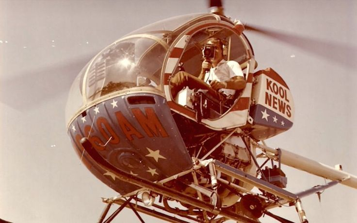 Meet Jerry Foster, colorful pilot who brought helicopters to TV news