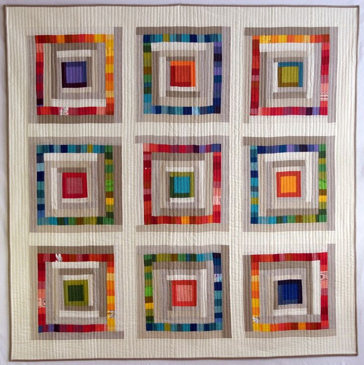 See this quilt-Hot and Cold by Krista Fleckenstein-as part of the exhibit, Modern Quilt Guild Showcase 2012, at Quilt Festival in Houston.
