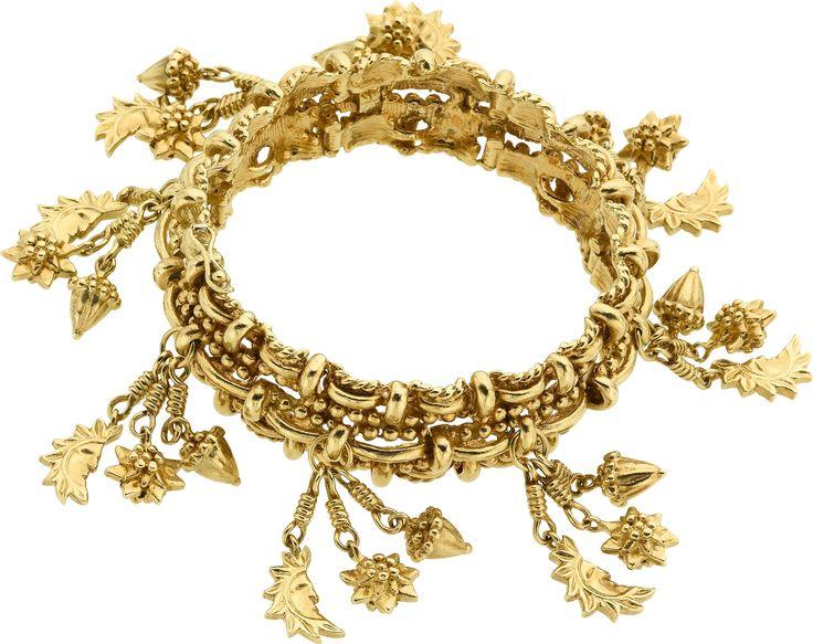 Gold Charm Bracelet, Tiffany & Co.. ... Estate JewelryBracelets | Lot #58032 | Heritage Auctions