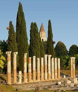 roman ruins in Aquileia