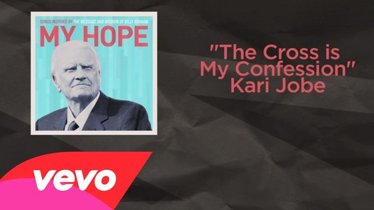 Kari Jobe - The Cross Is My Confession (Lyric Video) (+playlist) I will face my ever foe I will bow down because  the cross is my confession. It is where is all begin he  gave all for me.