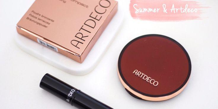 Vandaag review ik de zomer collectie van ARTDECO en heb ik wat looks gemaakt die misschien inspirerend voor je zijn. En misschien ook wel niet. Maar dat neemt niet weg hoe fijn deze make-up is.
