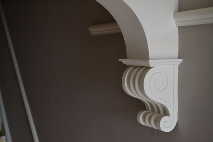 The 25 best plaster coving ideas on pinterest cornices for Decorative archway mouldings