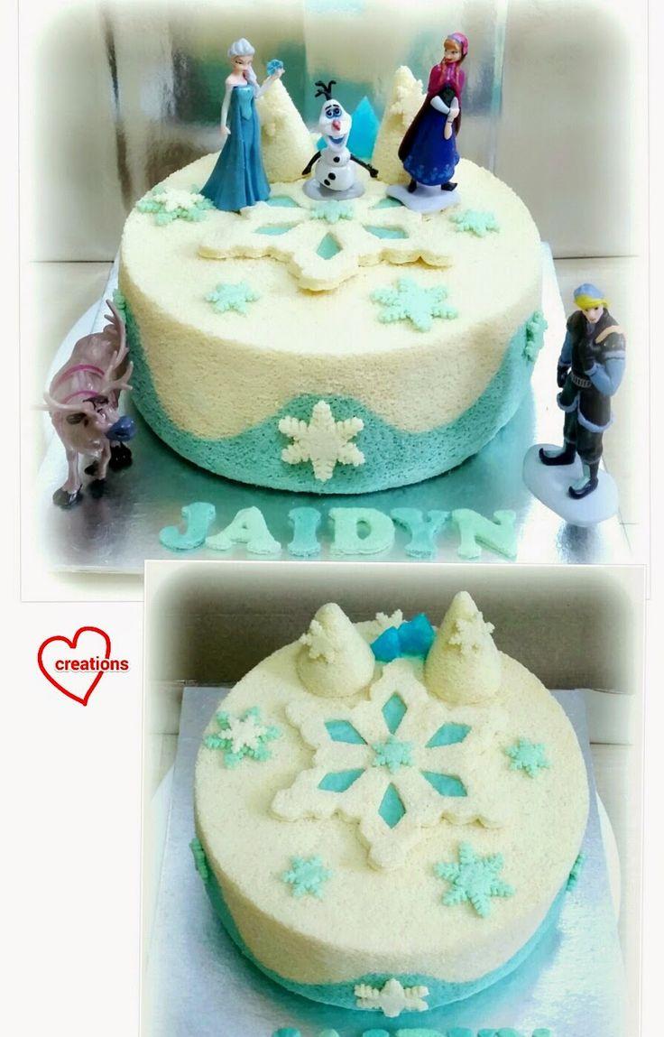 Loving Creations for You: Frozen Chiffon Cake