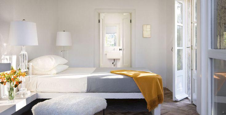 Chaque chambre à coucher dispose de sa salle de bains privative mais certaines ont en plus leur propre terrasse