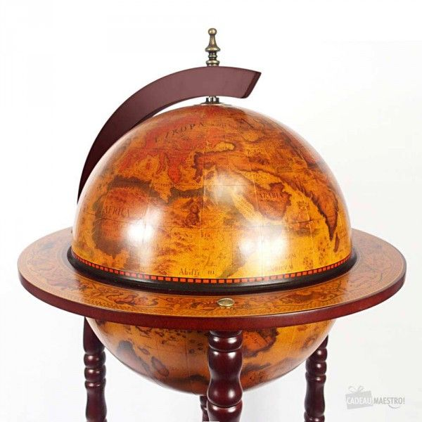 chariot globe terrestre bar mappemonde originale pinterest globes bar et liqueurs. Black Bedroom Furniture Sets. Home Design Ideas