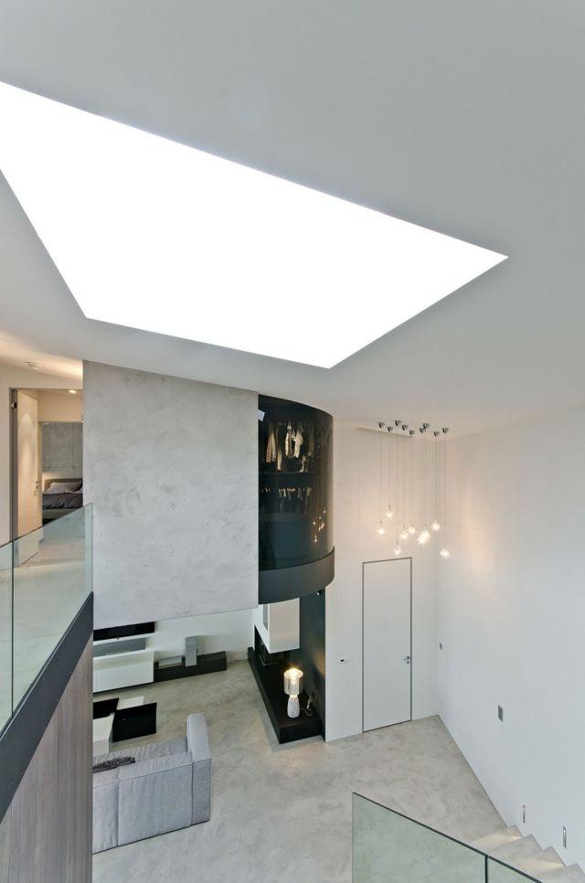 Haus einrichten –Wohnkonzept offenbart die Schönheit vom Sichtbeton ...