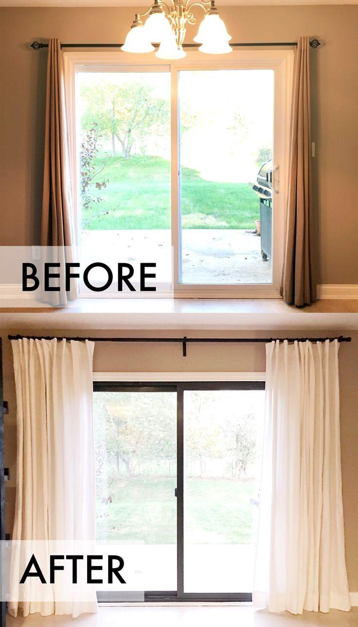 43 Stunning External Patio Doors In 2021 Patio Door Coverings Sliding Glass Door Window Door Coverings Curtain idea for sliding glass doors