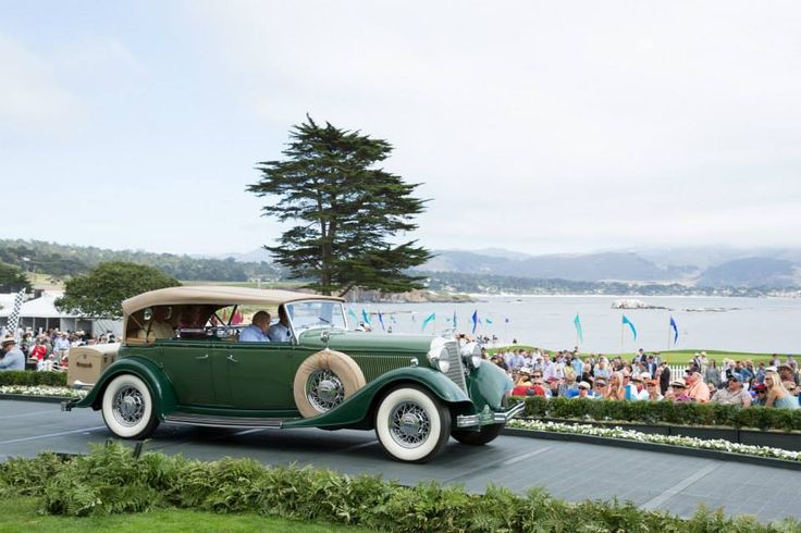 1933 Lincoln KB Sport Phaeton. Owned by the Passey family who have one of the foremost Lincoln collections.