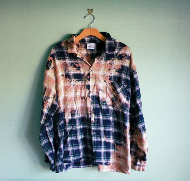 1000 ideas about bleach tie dye on pinterest tie dyed for How to wash flannel shirts