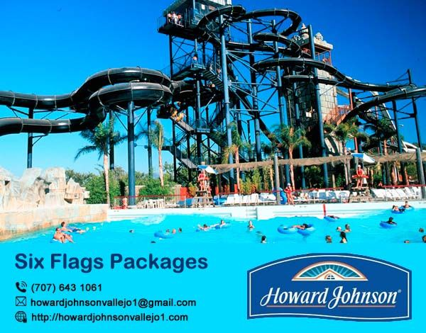 Howard Johnson Vallejo offer best #Six_Flags_Packages for your friend & family. Visit At:- http://bit.ly/2xuT4Bg