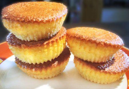 Gâteaux minceur au micro-onde