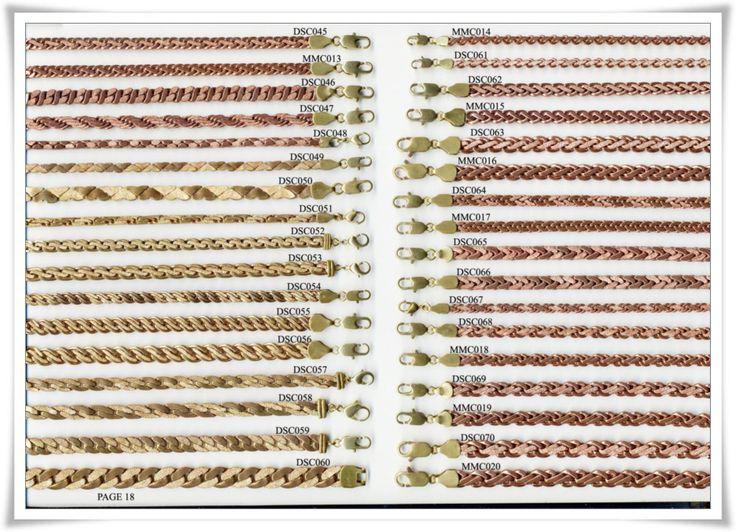 brass chain 18