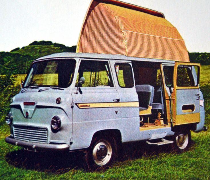 ford thames campervan - Google Search