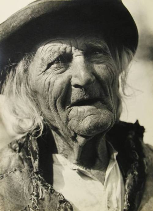 Karel Plicka  Stary horal (Old Mountaineer), 1930   Gelatin silver print (black & white)  3 1/2 x 4 3/4 inches