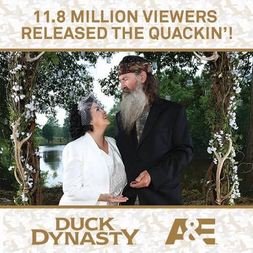 Staggering 11.8 Million Viewers Make 'Duck Dynasty' the Most Watched Reality Show Ever