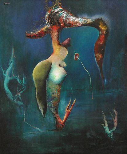 History of Art: Enrico Donati - Conception de Venus