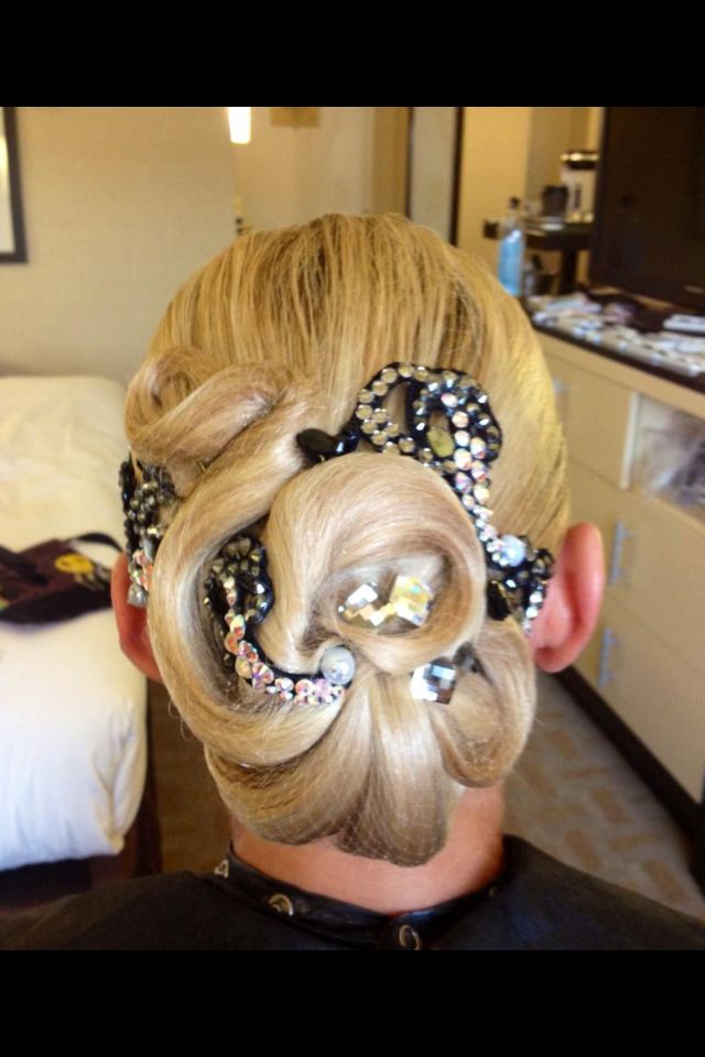 Ballroom Hairstyle