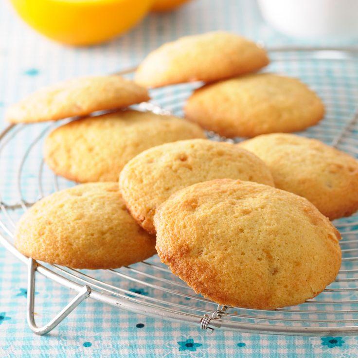 Biscuits legers � l'orange, facile et pas cher