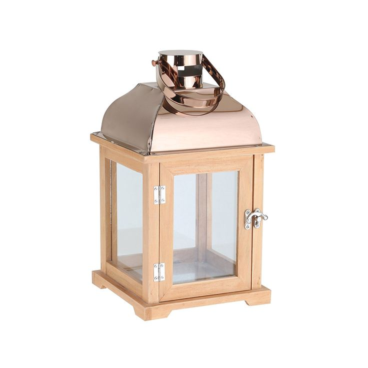 greemotion 123949 Lantern wood, 19 x 19 x 30 cm, natural * Read more details by clicking on the image. #GardenDecor