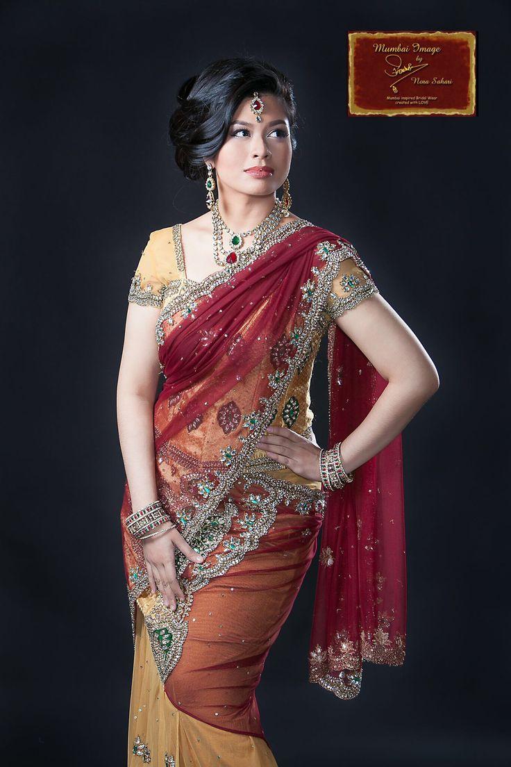 We named this Classical Beauty as Neesha  ~ The Lengha Saree Breed