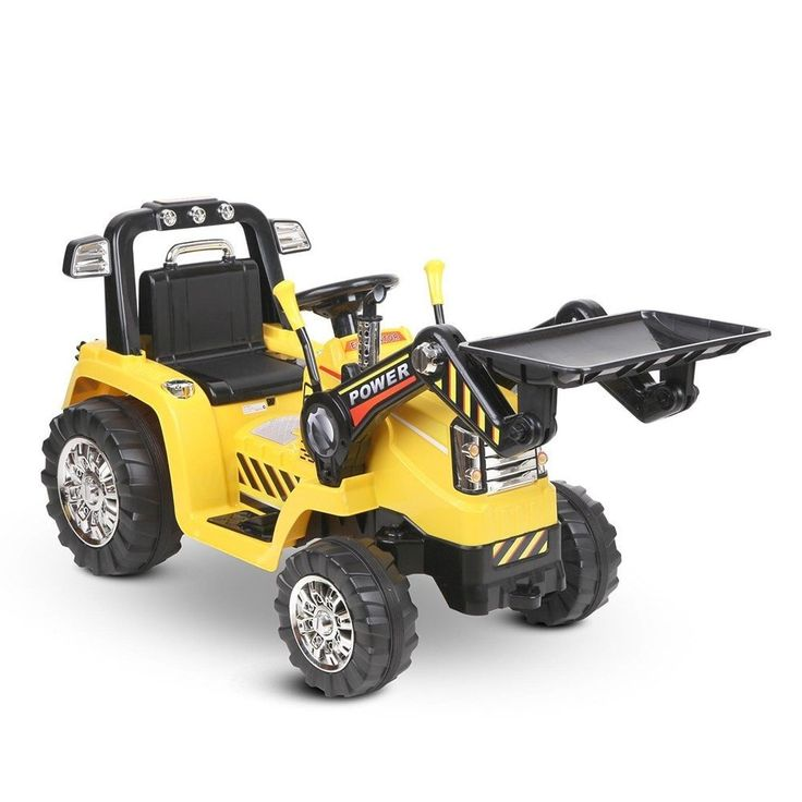 Kids Ride On Bulldozer – Battery Operated $233.90 w/- Remote Control -Free Delivery Aus Wide