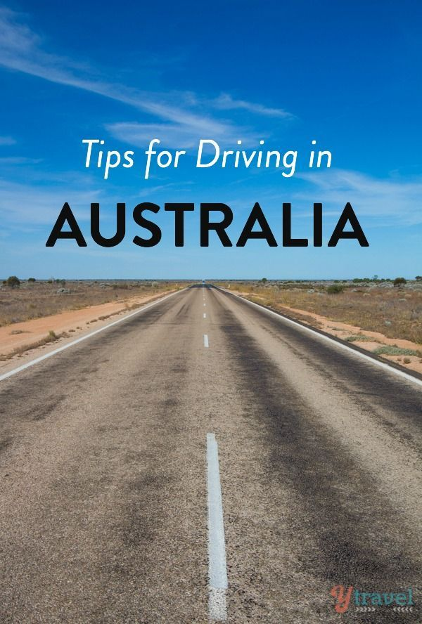 Handy tips for driving in Australia