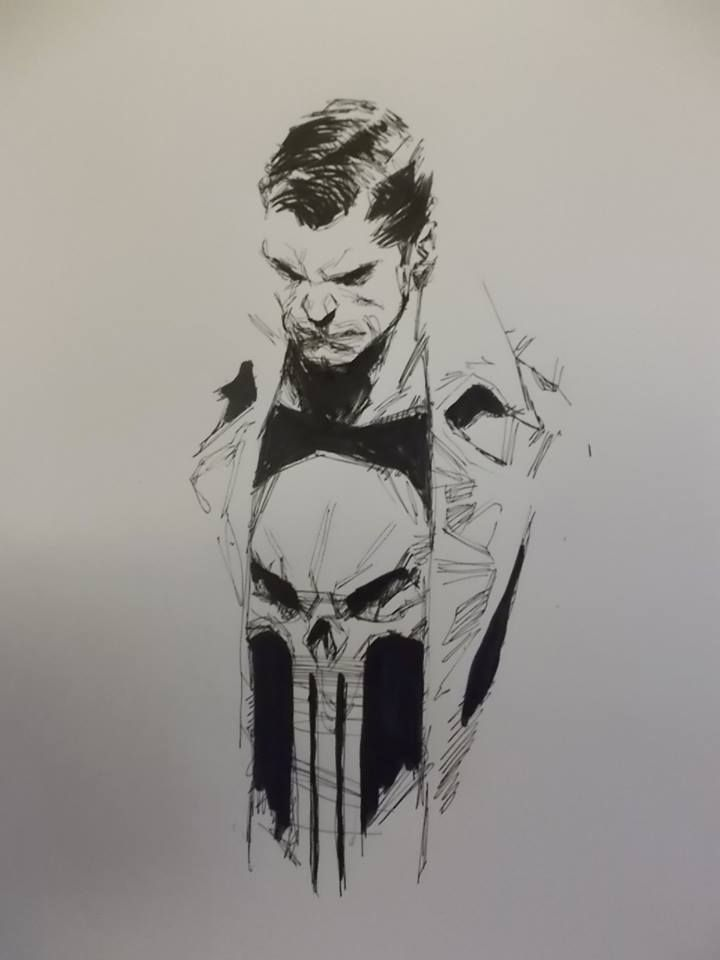 The Punisher by Ben Oliver *