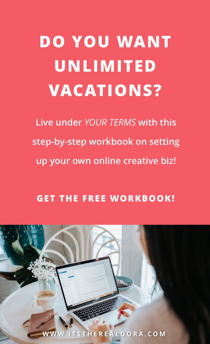 Workbooks workbook live : Do you want unlimited vacations? Live under YOUR TERMS with this ...