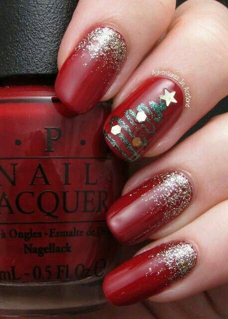 55 Popular Ideas Of Christmas Nails Designs To Try In 2019 Nail