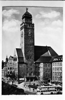 Berlin: Rathaus Neukölln in den 60ern