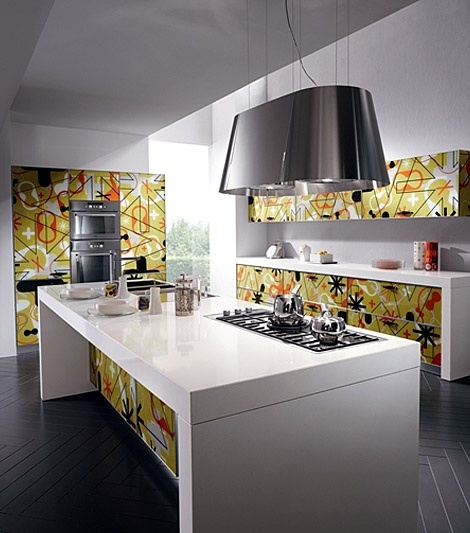 Modern Kitchen Designsu2013Crystal By Scavolini Kitchen Design