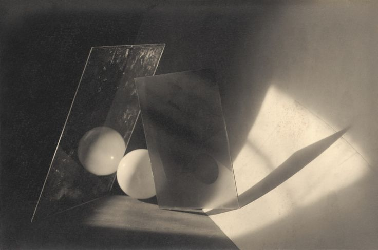 Jaromír Funke Composition – glass and ball (Still Life with a Ball) , 1923