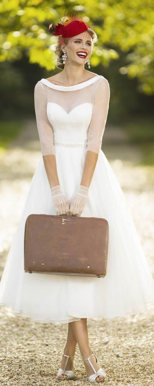 Brighton Belle Tea Length Wedding Dress 2017 HEIDI