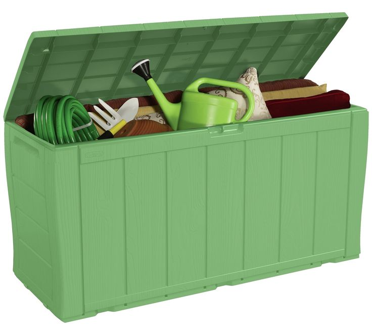 Buy Keter Wood Effect Storage Box - Green at Argos.co.uk, visit Argos.co.uk to shop online for Garden storage boxes and cupboards, Conservatories, sheds and greenhouses, Home and garden