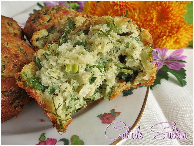 ısırgan otlu muffin