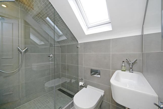 Ensuite big tiles in small space
