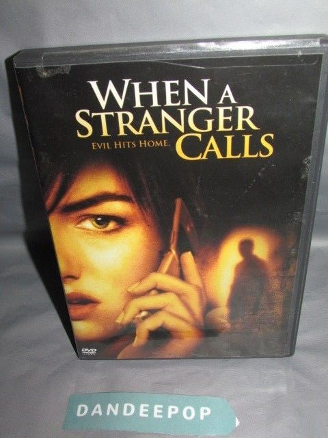 When a Stranger Calls (DVD, 2006) Movie #whenastrangercalls #movie #dvd #dandeepop Find me at dandeepop.com