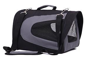 FurryGo Universal Colapsable Pet Airline Carrier - Medium