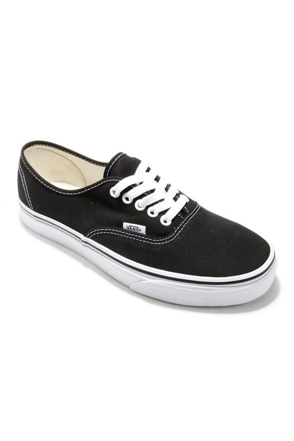 Vans - Authentic, sneakers, shoes, footwear, women, girl, trend, fashion, style, outfit, clothing, outwear, summer, spring, 2017, official, accessories,street, streetammo, vans, black, official, streetwear,