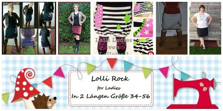 E Book Lolli for Ladies Gr.34-56  von DIY Lolletroll auf DaWanda.com