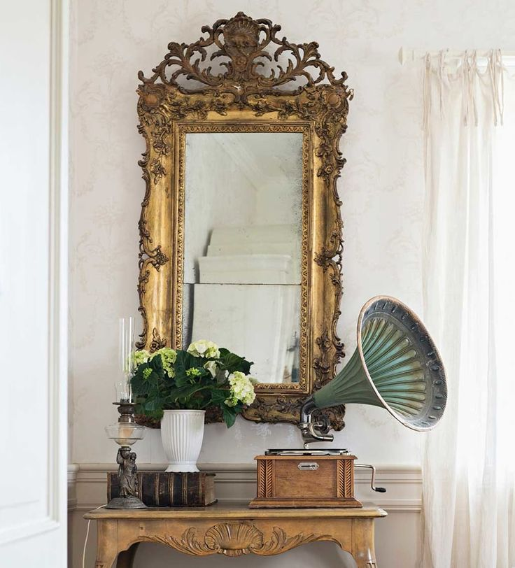 M s de 25 ideas incre bles sobre espejo barroco en - Espejo salon moderno ...